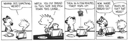 Calvin-Toast