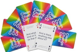 Clean Change Cards