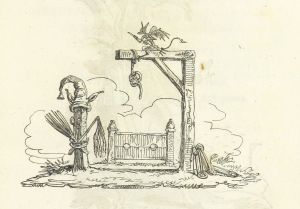 """The Men in the Moon: or, the 'Devil to pay.' With thirteen cuts [by George Cruikshank], etc. [A satirical poem-chiefly in reference to the proceedings of Messrs Cobbett, Hunt, and others.]"""